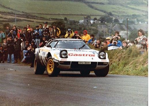 Andy dawson with Kevin Gormley on the 1980 Manx