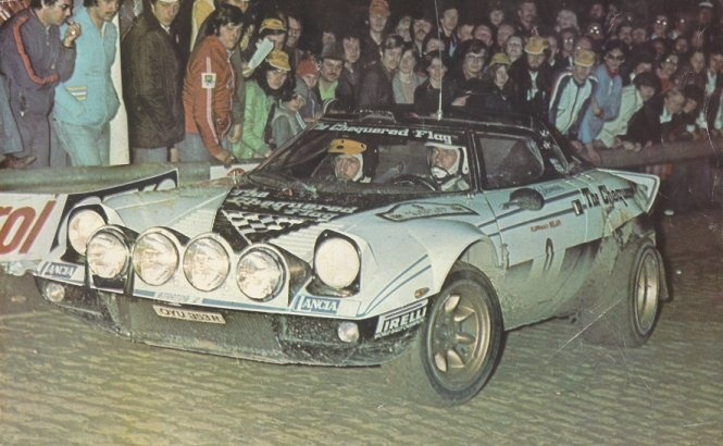 Billy Coleman Chequered Flag Stratos