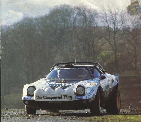 Chequered Flag Stratos 01