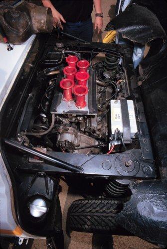 Chequered Flag Stratos engine