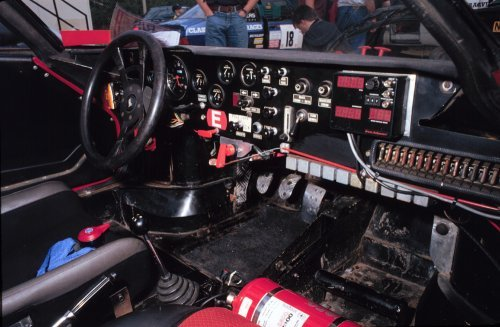 Chequered Flag Stratos interior