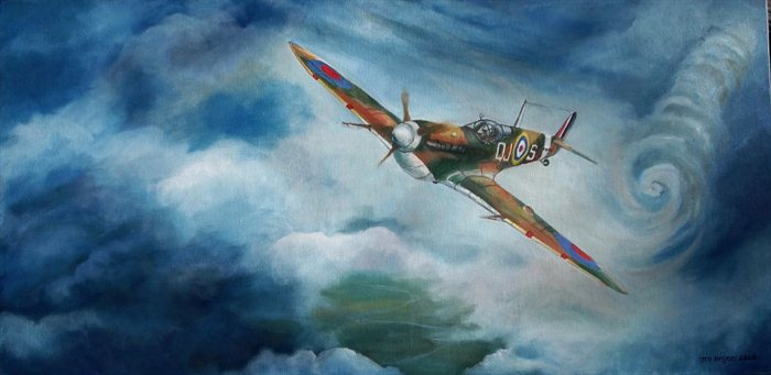 Into the Storm Spitfire Supermarine