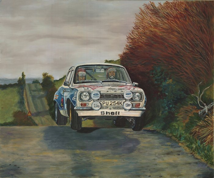 Roger Clark 1975 Circuit of Ireland Rally