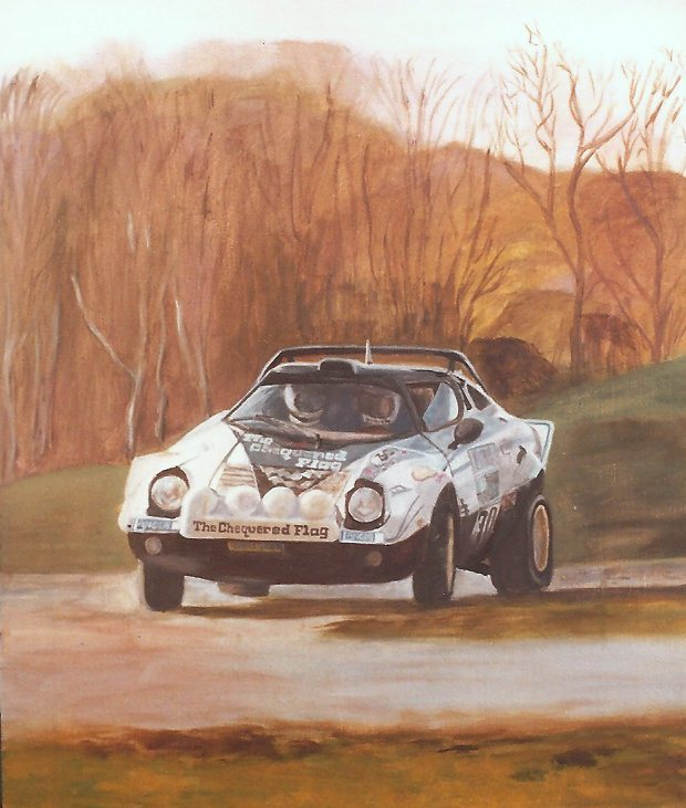 The Chequered Flag Lancia Stratos Rally of Great Britain 1978